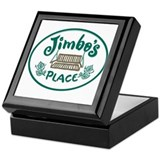 Cottage Brand: Jimbo's Place Keepsake Box