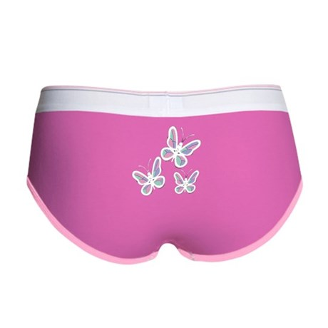Patchwork Butterflies Women's Boy Brief