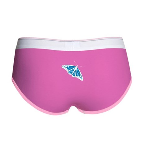 Blue Butterfly Women's Boy Brief