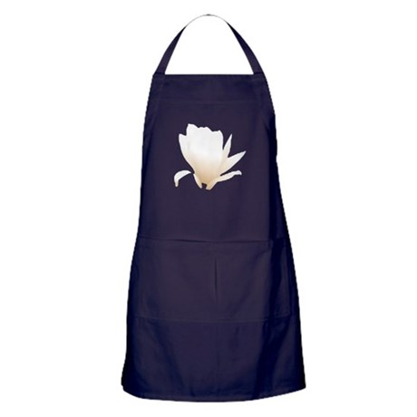 White Lily Apron (dark)