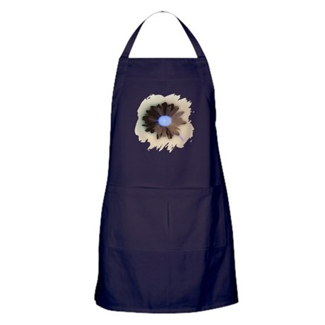 Country Daisy Apron (dark)