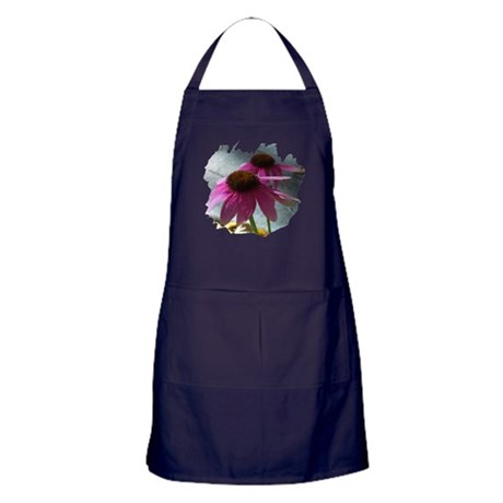 Windflower Apron (dark)