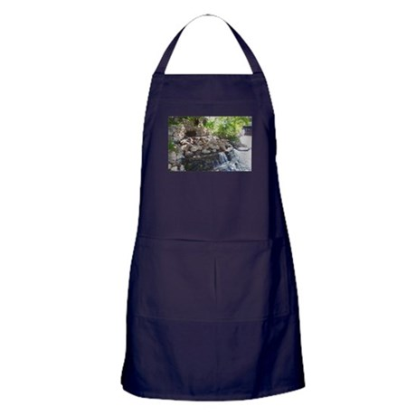 Garden Waterfall Apron (dark)