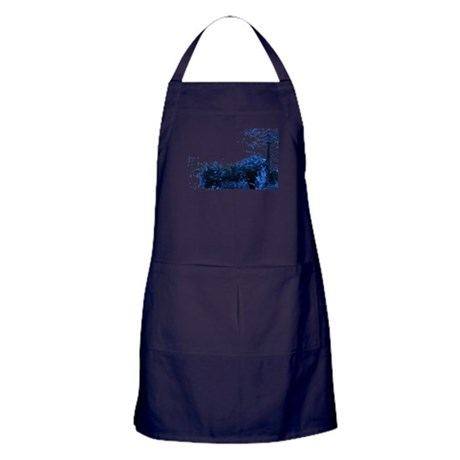 Blue Garden Apron (dark)