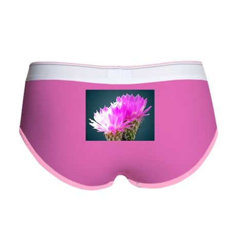 Cactus Blooms Women's Boy Brief