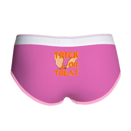 Trick or Treat Bat Women's Boy Brief