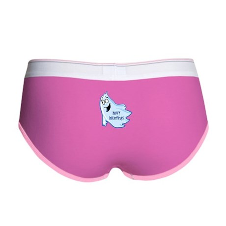 Happy Hauntings Women's Boy Brief
