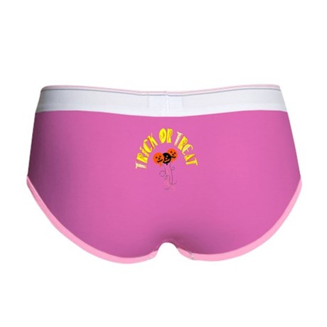 Trick or Treat Pumpkins Women's Boy Brief