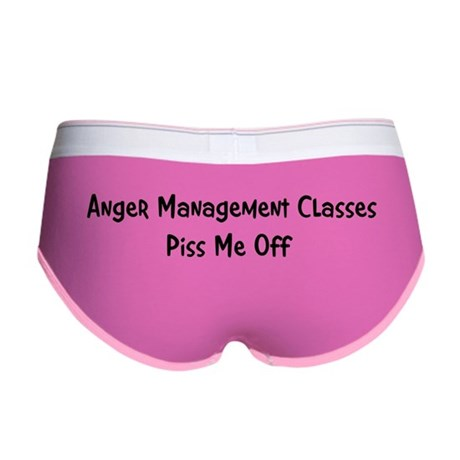 Anger Management Classes Piss Women's Boy Brief