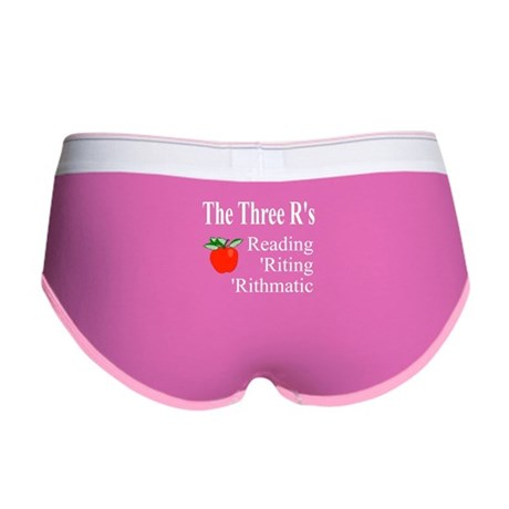 The Three R's Women's Boy Brief