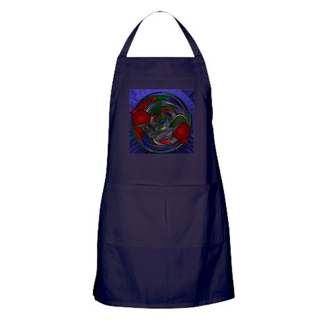 Abstract 005 Apron (dark)