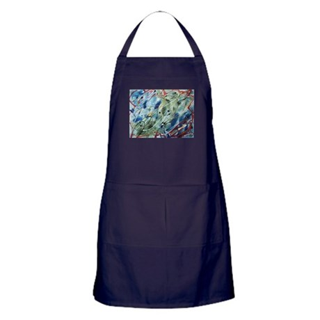 Untitled Abstract Apron (dark)