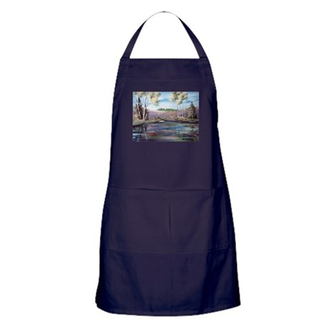 Countryside View Apron (dark)