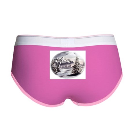 Snow Mountain Women's Boy Brief