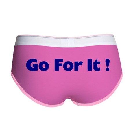 Go For It Women's Boy Brief