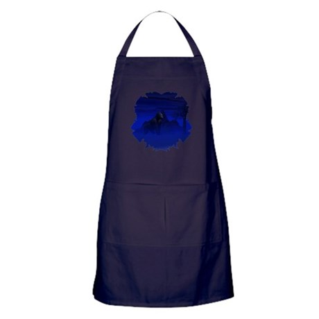 Night Gorilla Apron (dark)