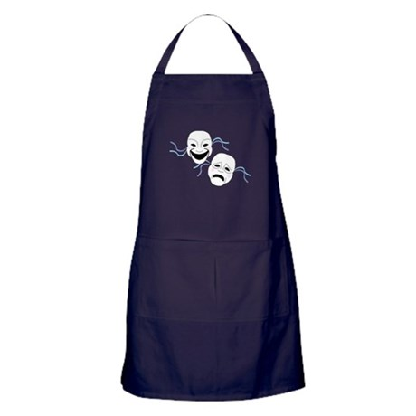 Theater Masks Apron (dark)