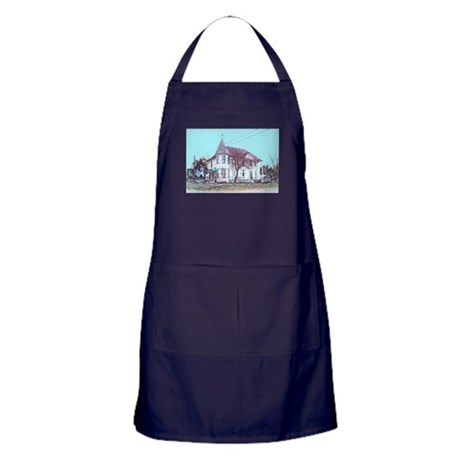 Old House on the Corner Apron (dark)