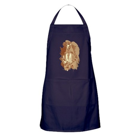 Indian Brave Apron (dark)