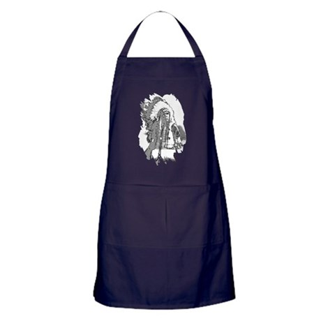Indian Chief Apron (dark)
