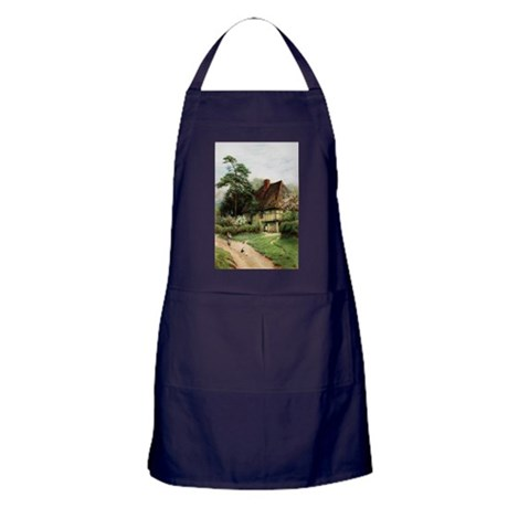 English Country Cottage Apron (dark)
