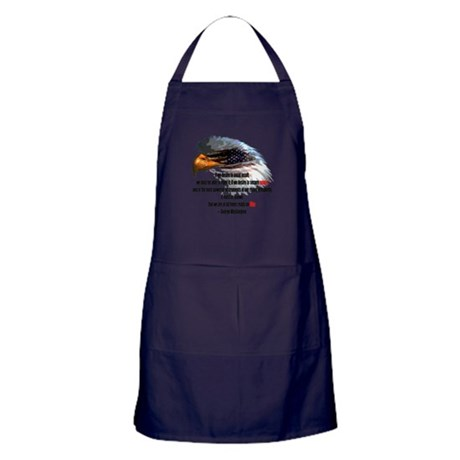Peace and War Apron (dark)