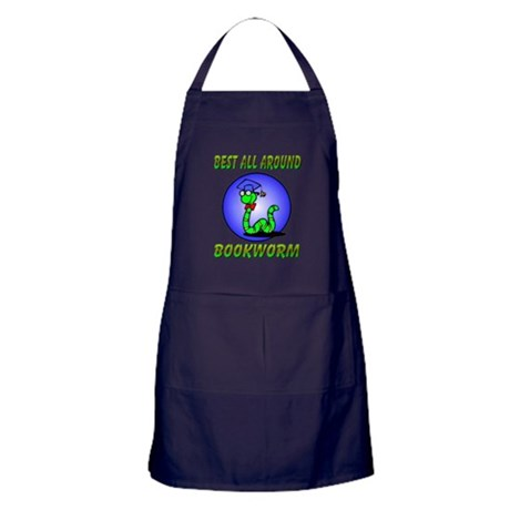 Best Bookworm Apron (dark)