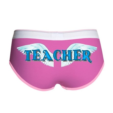 Angel Wings Teacher Women's Boy Brief