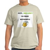 Minnesota Beer Drinker's T-Shirt