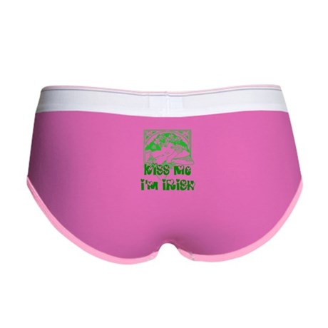 Kiss Me Irish Girl Women's Boy Brief