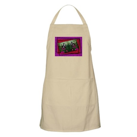 Thank You Butterflies Apron