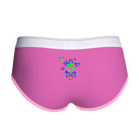 Kaleidoscope Hearts Women's Boy Brief