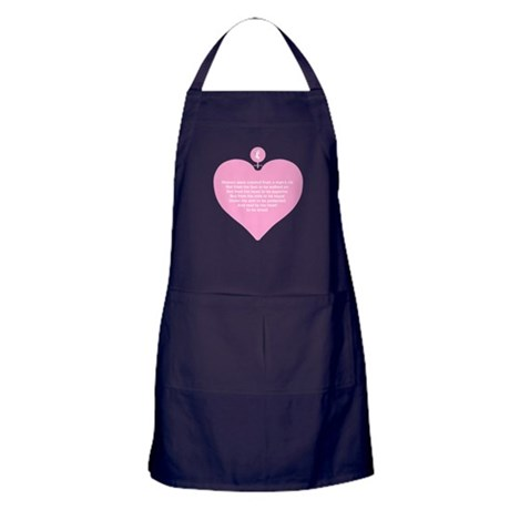Pink Heart Apron (dark)