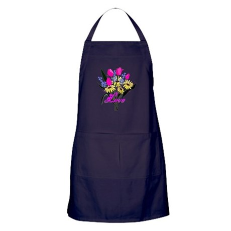 Love Bouquet Apron (dark)