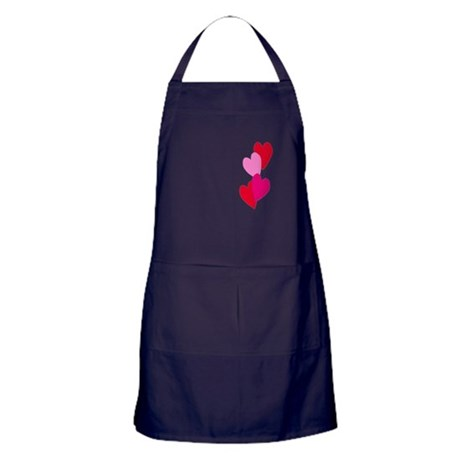 Candy Hearts Apron (dark)