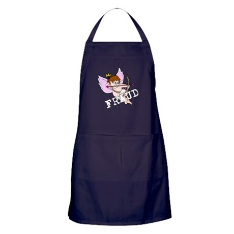 Cupid is a FRAUD! Apron (dark)