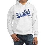 West End Baseball Hoodie (light)