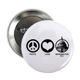 "Peace Love Washington D.C. 2.25"" Button"