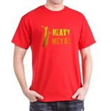 Heavy Metal Baritone Sax T-Shirt