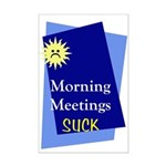 &quot;Morning Meetings&quot; Mini Poster Print
