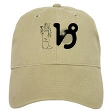 """Virgo"" Baseball Cap (shown in khaki)"