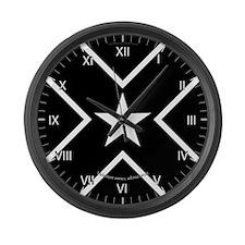 Meridies Populace Badge Large Wall Clock