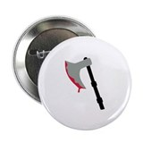 "Ax - Blood 2.25"" Button (100 pack)"