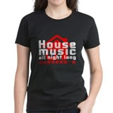 Cute House night Tee