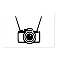 Camera Postcards (Package of 8)