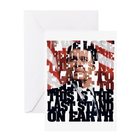 Reagan Quote Greeting Card