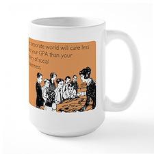 Social Drunkenness Large Mug