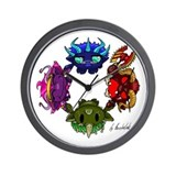 Chaos Gods Wall Clock