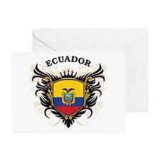 Ecuador Greeting Card