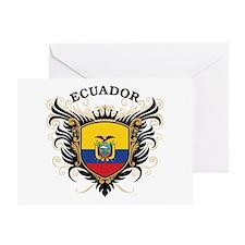 Ecuador Greeting Card